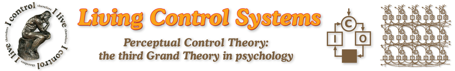Living Control Systems Publishing; dedicated to Perceptual Control Theory, a new conception of how all living things function
